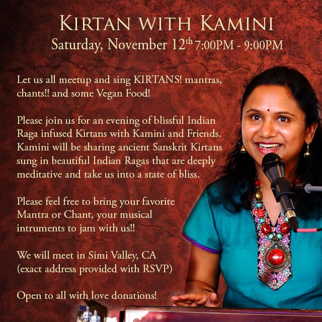 Kirtan with Kamini
