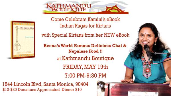 Kirtan with Kamini at Kathmandu Boutique