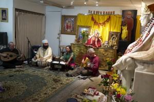 Kamini sings for pre-Moksha
