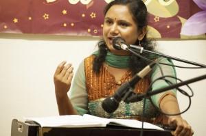 Kamini sings Bhajans