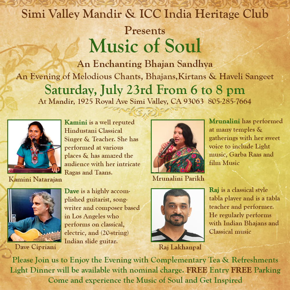 Kamini Natarajan Music for Soul