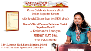 Kirtan with Kamini at Kathmandu Boutique